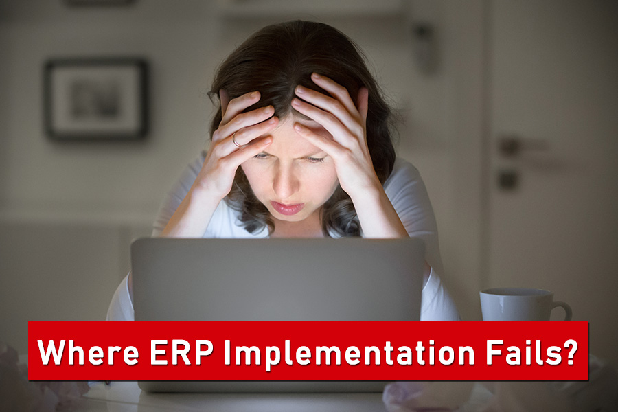 where ERPimplementation fails