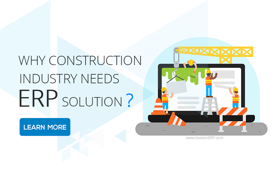 construction erp solution need