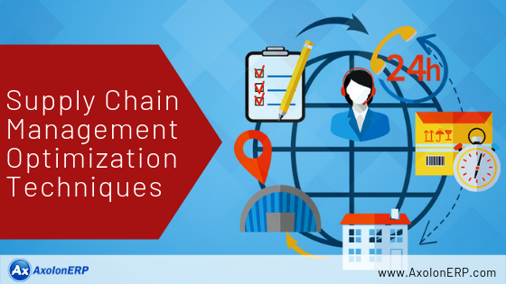 Supply Chain Management Optimization Techniques